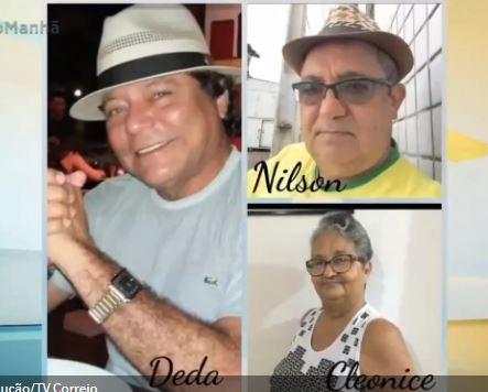 co - Três irmãos morrem vítimas da Covid-19, na Paraíba - VEJA VÍDEO
