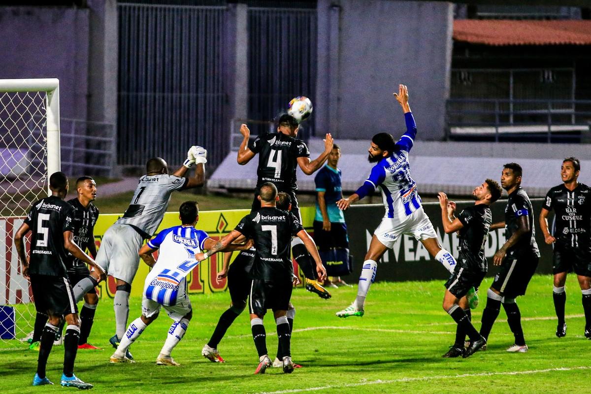 csa x treze - CSA sai na frente, Treze reage e empata no final pela Copa do Nordeste