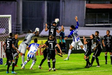 CSA sai na frente, Treze reage e empata no final pela Copa do Nordeste