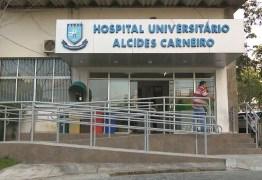 Hospital Universitário de Campina Grande irá reabrir 10 leitos de UTI para covid-19