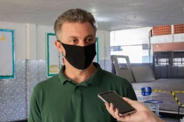 """huck - Indireta para Bolsonaro? Huck diz que é preciso somar forças para """"tirar um entulho do meio da sala"""""""