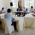 image - Mesa Diretora da CMJP se reúne com prefeito Cicero Lucena no Paço Municipal