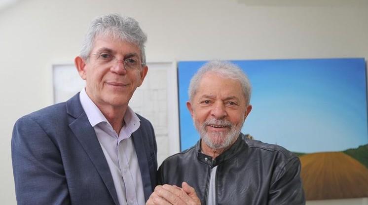 """imagem 2021 03 08 213944 - Ricardo Coutinho: """"Salve a liberdade e a recuperação dos direitos plenos do Presidente Lula"""""""