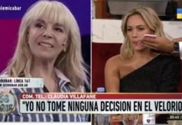 Ex-mulher e ex-namorada de Maradona brigam ao vivo durante programa de TV  – VEJA VÍDEO