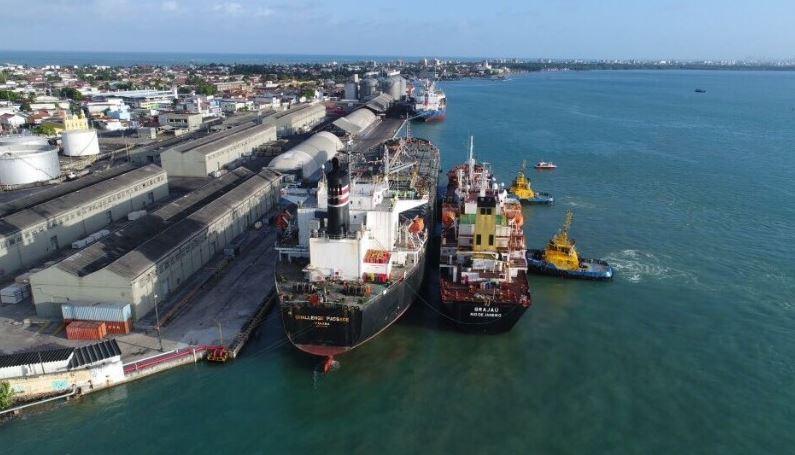 porto - Porto de Cabedelo tem aumento de 29,35% na movimentação de cargas no 1º bimestre de 2021