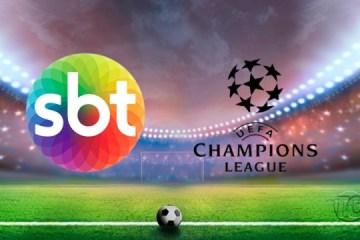 SBT superou Rede Globo e irá transmitir a Champions League