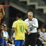 tirte - Tite exalta recente evolução de Neymar: 'Aumentou seu arsenal'