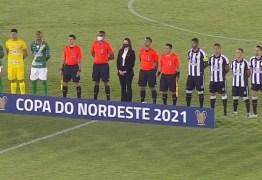 Jeferson fecha o gol, Treze bate Altos-PI e vence a primeira na Copa do Nordeste
