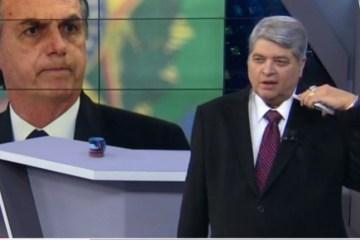 BRASIL URGENTE: Datena detona Bolsonaro na TV, 'agrediu a democracia'