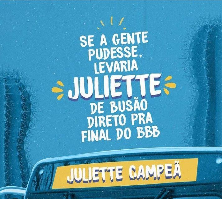 63818a8f 92ba 46b0 b715 1e5949e6b4ef e1619040670967 - 'TOP DAS PARADAS': Sintur-JP faz homenagem à Juliette no transporte coletivo de João Pessoa