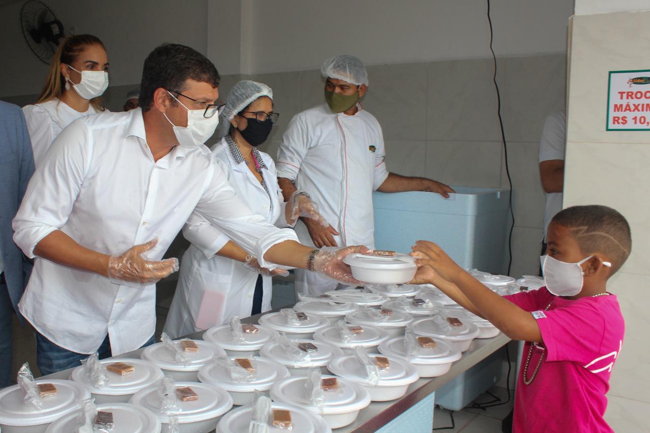 9fdcafa1 2f61 4e1c 9b5a 7e53ff6eaaff - Prefeitura de Cabedelo inaugura Restaurante Popular na cidade com refeições a R$ 1