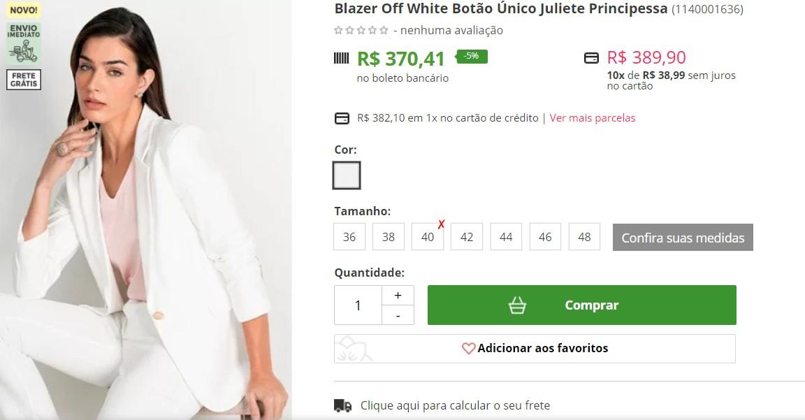 Capturar 34 - TUDO QUE ELA USA FAZ SUCESSO: marcas e lojas online usam nome de Juliette para promover seus produtos; confira