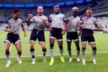 """Capturar.JPGbgt - Jogadores do Ceará dançam hit """"Um Conto de Fadas"""" e narrador dá show"""