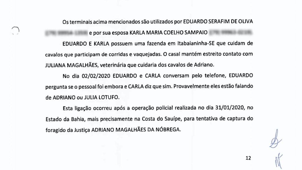 CasaVidro Print3 1024x576 - 'O CARA DA CASA DE VIDRO': Grampos sugerem que comparsas do miliciano Adriano da Nóbrega recorreram a Bolsonaro