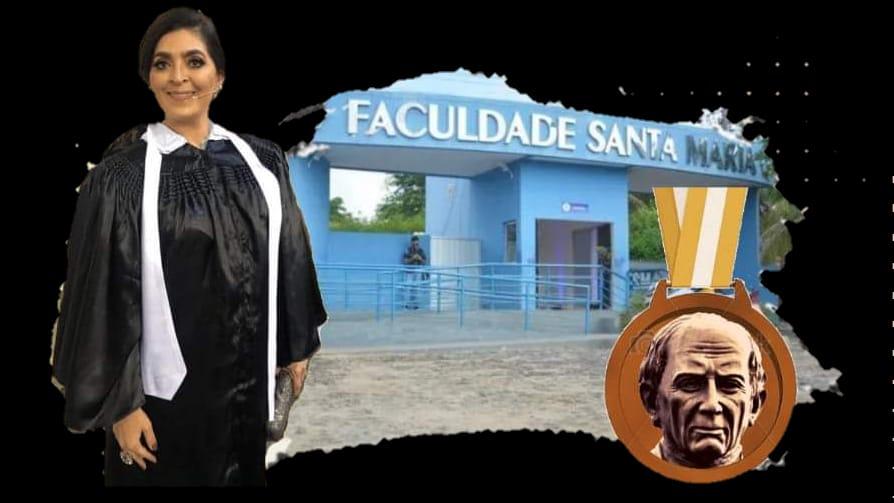 Doutora Sheylla Nadjane Batista Lacerda sera homenageada pela ALPB por iniciativa de Jeova - ALPB aprova concessão de Medalha Padre Rolim a educadora Sheylla Lacerda