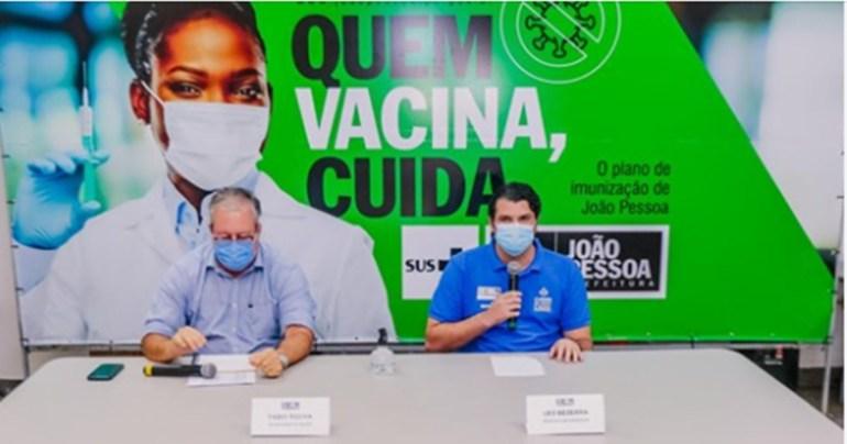 PMJP Vacina - Prefeitura garante que não haverá mais incidentes na vacinação