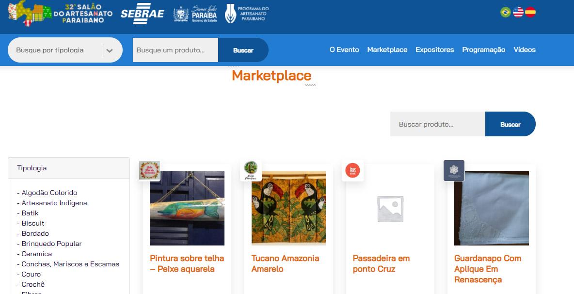 Salao do Artesanato - Prorrogado até julho, Salão do Artesanato Paraibano oferece mais 100 vagas para expositores
