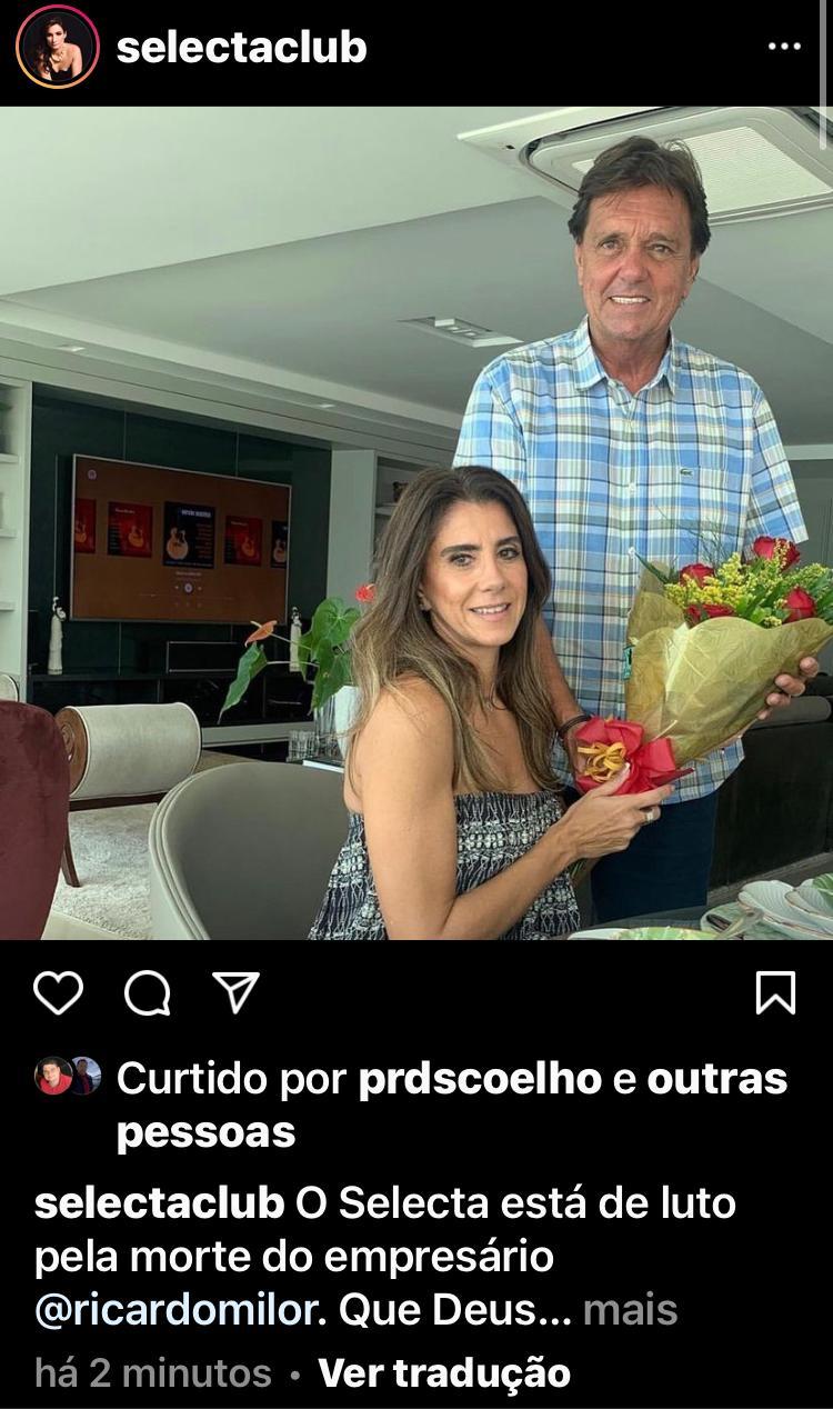 WhatsApp Image 2021 04 03 at 19.11.14 - TRAGÉDIA: empresário Ricardo Rolim morre vítima de afogamento na praia de Coqueirinho