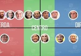 CENÁRIO DOS PRESIDENCIÁVEIS: como vão se alinhar os prováveis candidatos ao Governo da Paraíba?