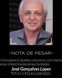 WhatsApp Image 2021 04 12 at 08.53.50 239x300 - LUTO: morre fundador da Gonçalves Calçados, José Golçalves Lopes, vítima da Covid-19