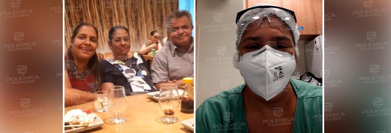 """WhatsApp Image 2021 04 14 at 17.32.38 - Com três mortes na família e centenas no hospital, enfermeira luta para continuar: """"Vontade de sair correndo"""""""