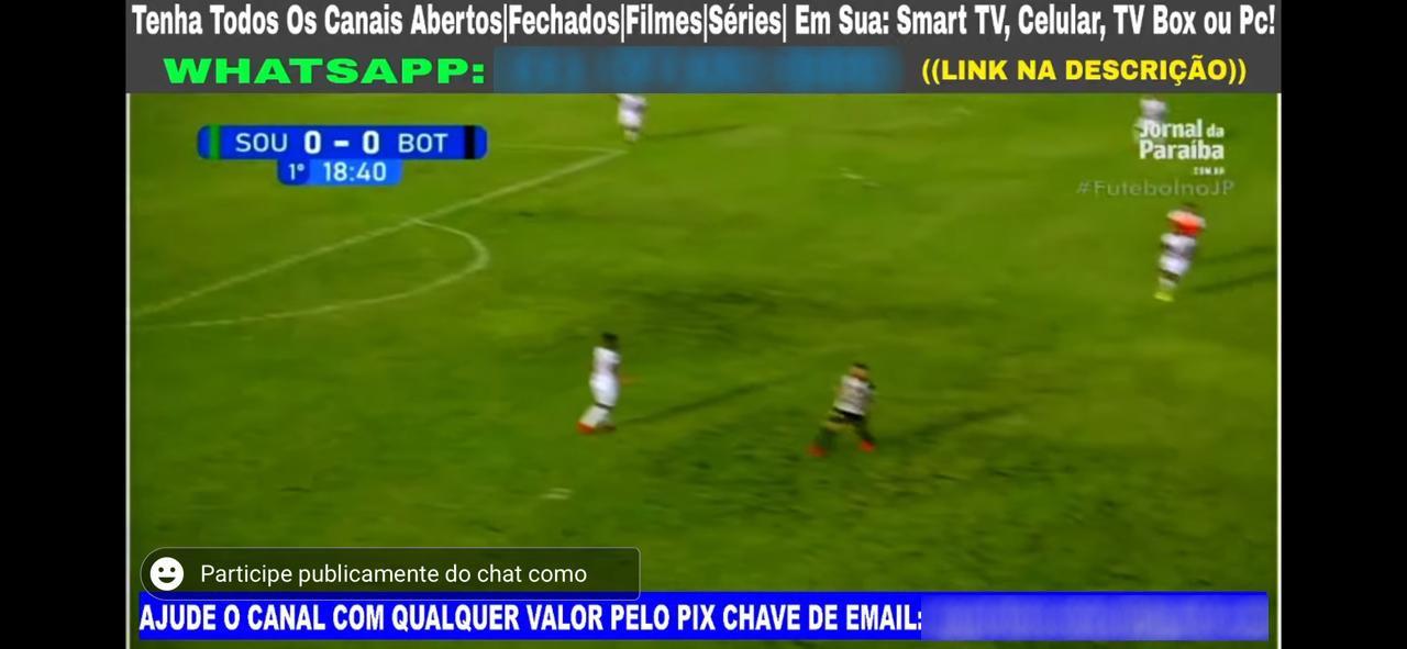 WhatsApp Image 2021 04 15 at 16.44.27 1 - CRIME! Transmissão oficial de jogo entre Botafogo e Sousa é pirateada na internet