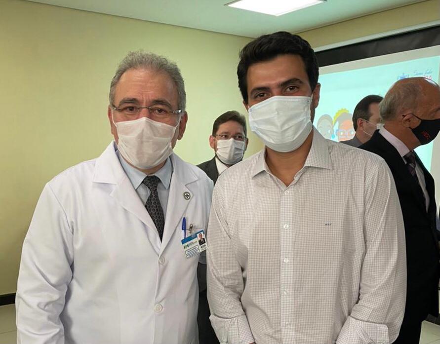 WhatsApp Image 2021 04 16 at 16.03.57 - Wilson Filho acompanha ministro da Saúde e reivindica Hospital do Câncer no Sertão
