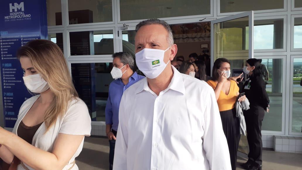 WhatsApp Image 2021 04 16 at 21.31.51 - Aguinaldo Ribeiro destaca expectativa positiva para Paraíba com visita de ministros da Saúde e do Turismo para organizar ações futuras