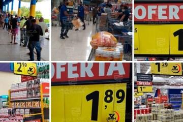 AGLOMERAÇÃO EM JP: Supermercado decide baixar o preço de bebidas e provoca fila gigantesca – CONFIRA