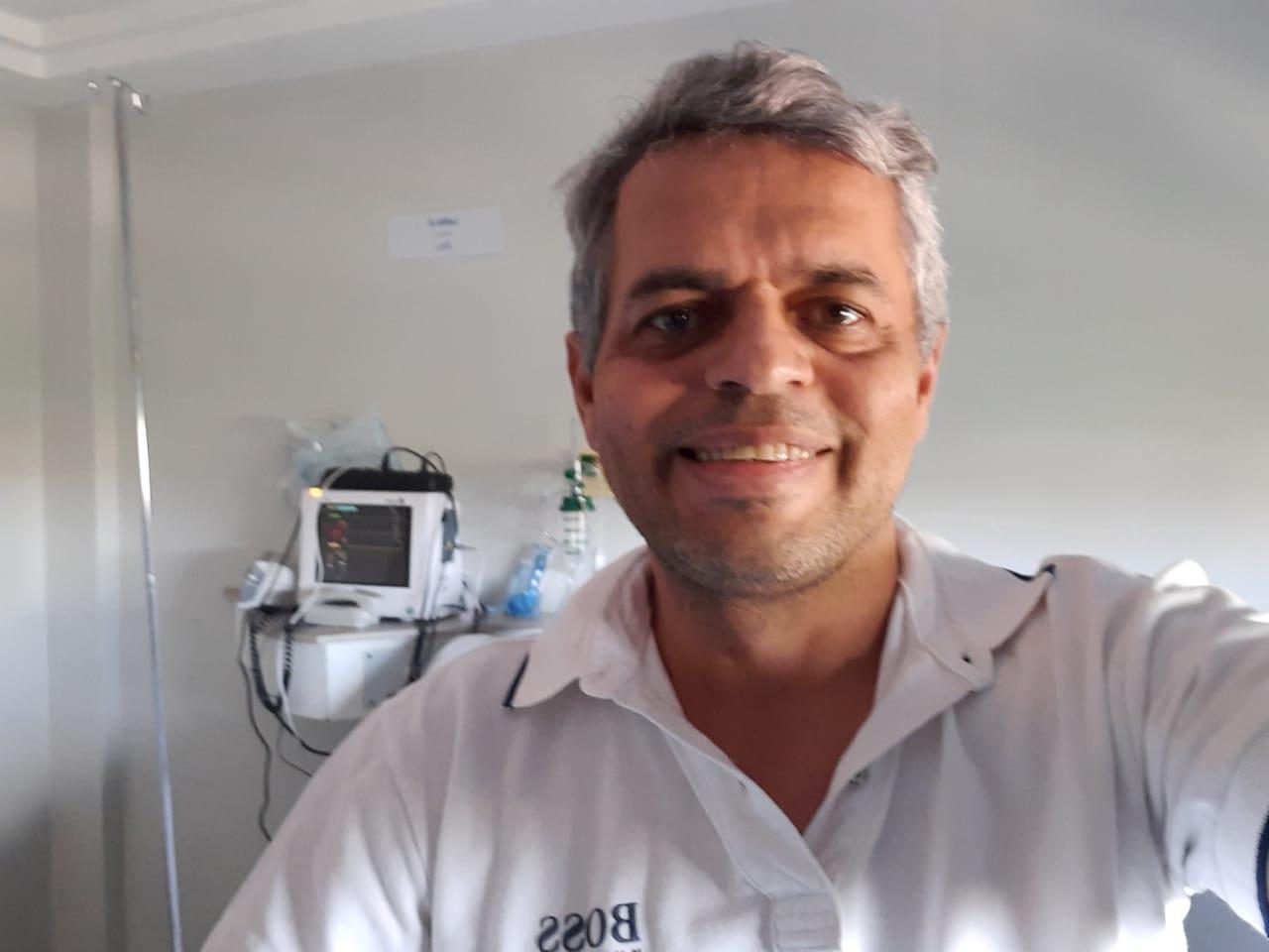 """WhatsApp Image 2021 04 27 at 13.58.35 - Com Covid-19, Jomar Brandão recebe alta médica e irá continuar o tratamento em casa: """"Deus me deu outra oportunidade"""""""
