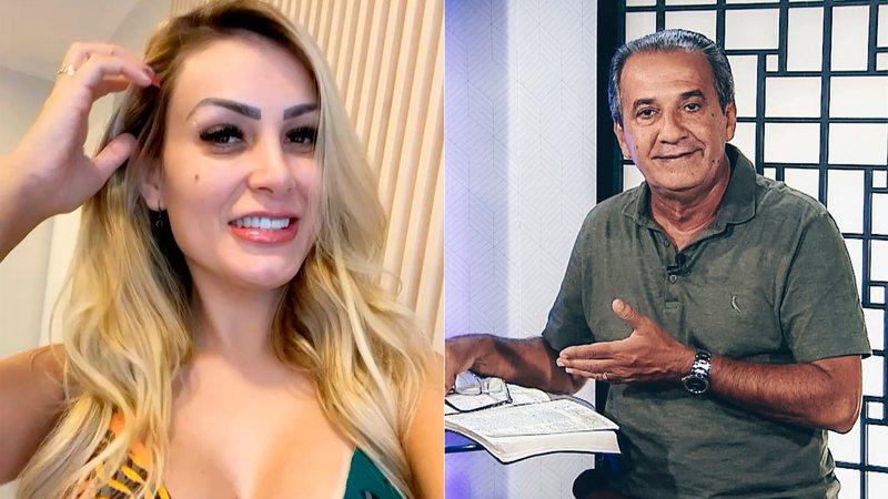 andressa e silas - Andressa Urach processa Silas Malafaia e pede indenização de R$ 100 mil por 'ofensa'