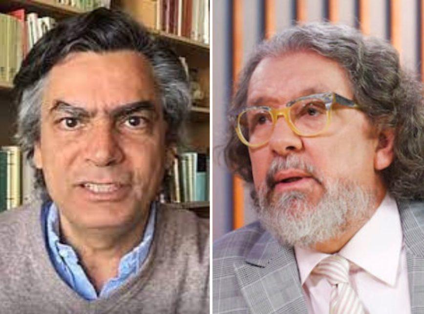 "briga jornalistas - Jornalista Diogo Mainardi xinga advogado Kakay durante debate em programa: ""Vai tomar no c*"" - ASSISTA"