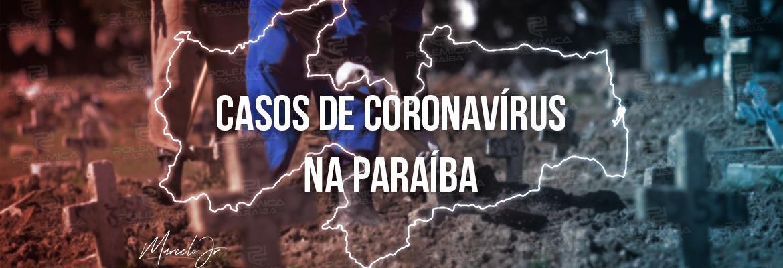 casos coronavirus 1 - Paraíba supera marca de 300 mil casos de Covid-19 e chega a 7.018 óbitos