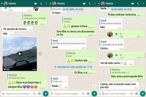 conversa 1 300x200 - Família relembra momentos antes de Patrícia Roberta desaparecer, em João Pessoa