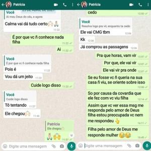 conversa 3 300x300 - Família relembra momentos antes de Patrícia Roberta desaparecer, em João Pessoa