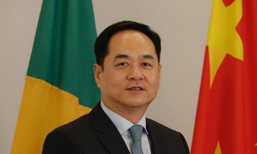 emb.jpeg 1024x615 - Embaixador reage à fala de Paulo Guedes e diz que China fornece 95% das vacinas do Brasil