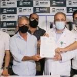 foto nabor 1 - Prefeito Nabor Wanderley encontra ministro Marcelo Queiroga; protocolo de intenções para a saúde em Patos é firmado