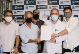 Prefeito Nabor Wanderley encontra ministro Marcelo Queiroga; protocolo de intenções para a saúde em Patos é firmado