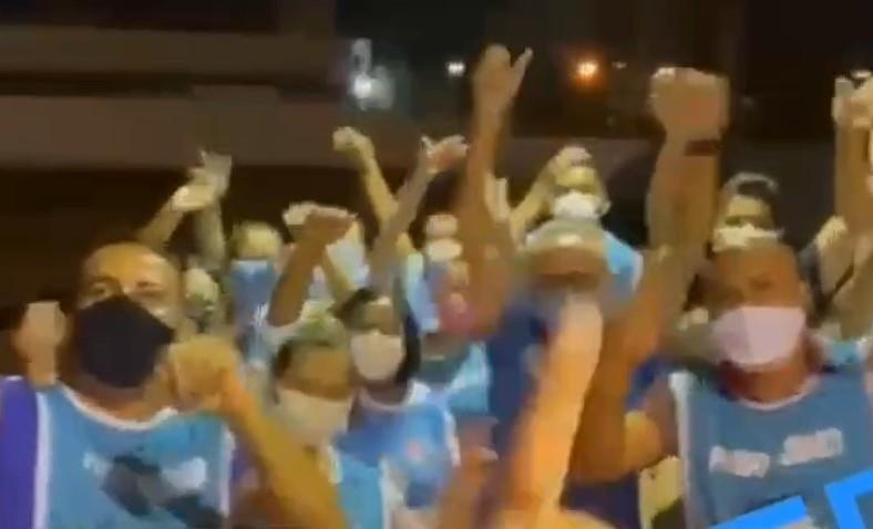 imagem 2021 04 25 155005 - 5 mil pessoas imunizadas: Prefeito Cícero Lucena comemora sucesso de vacinação noturna - VEJA VÍDEO