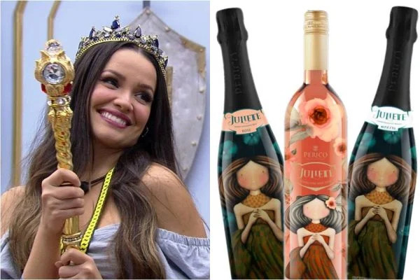 juliette vinho 600x400 1 - FENÔMENO JULIETTE: Vinhos que levam o nome da paraibana aumentam a venda em 40%