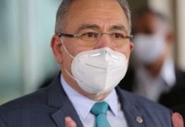 Ministro da Saúde, Marcelo Queiroga, deve visitar a Paraíba neste final de semana