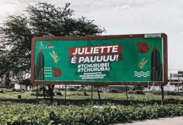 """""""JULIETTE É PAU"""": Outdoor em apoio à paraibana do BBB 21 surge em Campina Grande"""