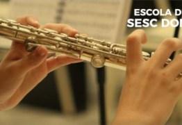 Sesc Paraíba abre inscrições para cursos de instrumentos musicais em João Pessoa