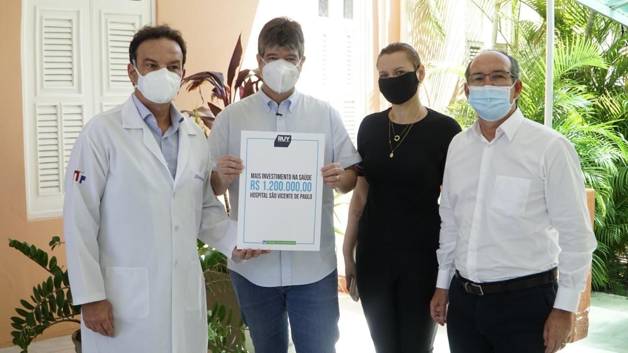 unnamed 1 1 - Ruy faz novo investimento no Hospital São Vicente e reforça atenção aos pacientes do SUS