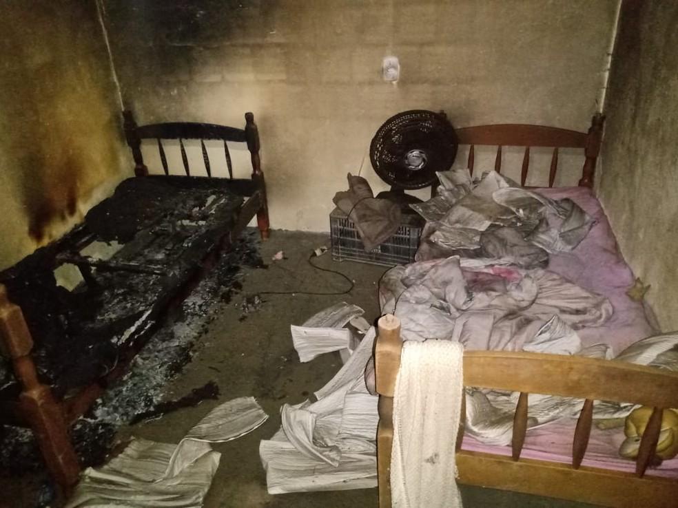 whatsapp image 2021 04 18 at 18.34.22 - TRAGÉDIA! Irmãs de 6 e 5 anos morrem abraçadas após casa pegar fogo