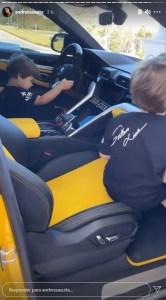 20210504121135 166x300 - Andressa Suita mostra filhos brincando em carro de R$ 2,5 milhões de Gusttavo Lima