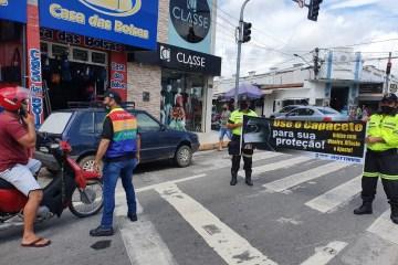 6 - STTRANS realização blitz educativa nas principais ruas de Patos