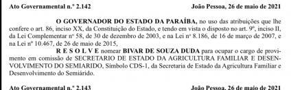 6E915828 CCD4 4334 9987 D0832178FAD7 424x132 1 - Governador João Azevêdo nomeia Bivar de Souza Duda como secretário de Agricultura