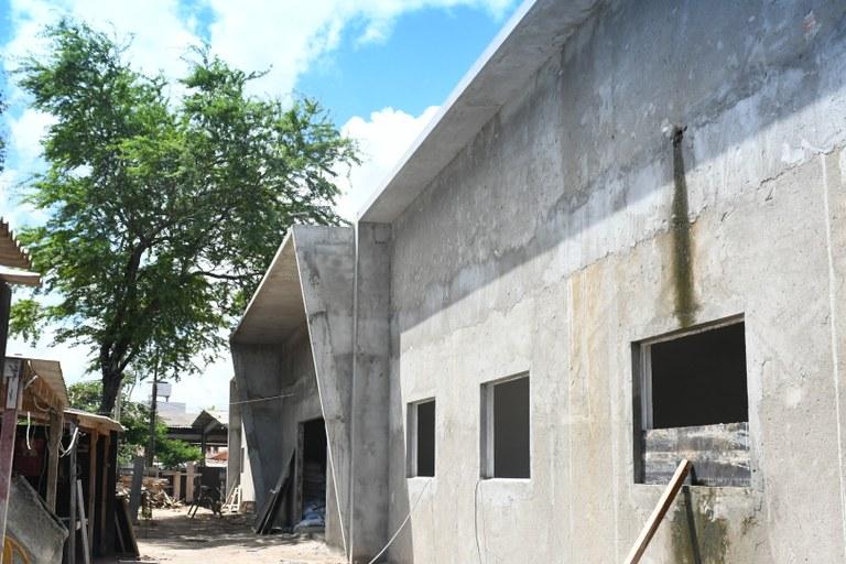 72f1b99b 280c 4704 bdc6 f68c1d7d885c - João Azevêdo visita obras do Hospital Infantil de Santa Rita e assegura parceria com a prefeitura para expandir serviços de saúde