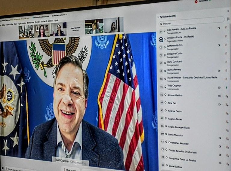 78f1c196 f62d 46c3 81a9 5912dd07aad6 - João Azevêdo e embaixador dos EUA assinam memorando de entendimento e estabelecem parcerias em áreas estratégicas para o desenvolvimento do estado